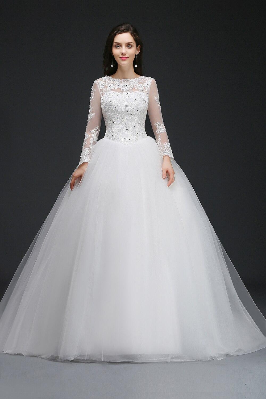 Women's Mesh Sequined Bridal Dress